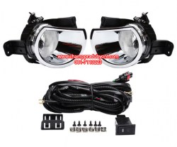Chrome-Driving-Lamps-Fog-Lights-for-Chevrolet-Chevy-Colorado-2016-With-Wires-Harness-Switch