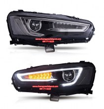 VLAND-Headlamp-Car-Headlights-Assembly-for-2008-2018-Mitsubishi-Lancer-EVO-X-Red-Demon-Eye-Head